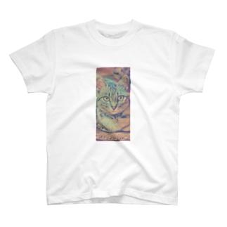 次女猫ニコ T-shirts