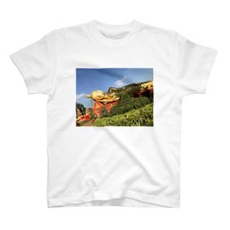 寝仏 T-shirts