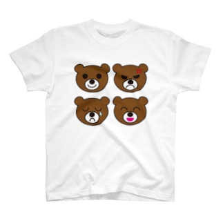 喜怒哀楽 T-shirts
