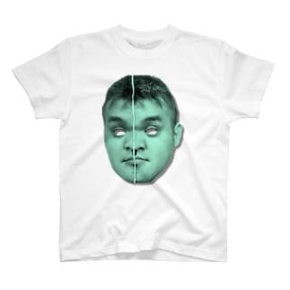 ちゃうみきゃんべる グリーン T-shirts