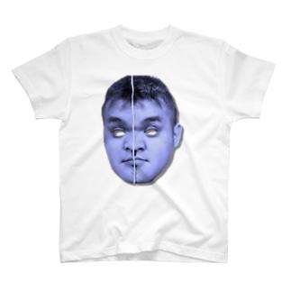 ちゃうみきゃんべる ブルー T-shirts