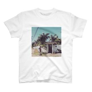 ビーチサイドハウス T-shirts