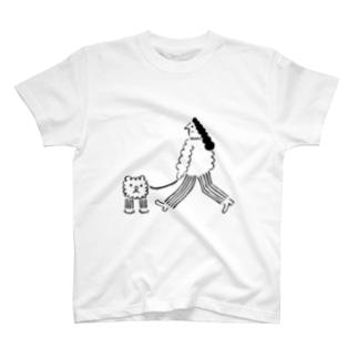 ノボンブのペアデサンポ T-shirts