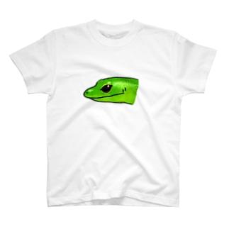 ミドリツヤトカゲの顔が好き T-shirts