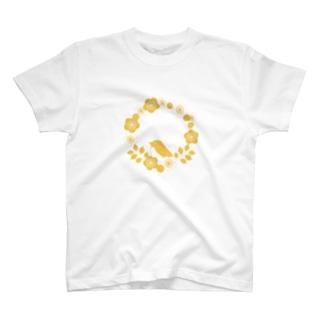 梅と鶯 T-shirts