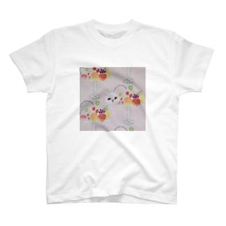 キャットフルーツパフェ T-shirts