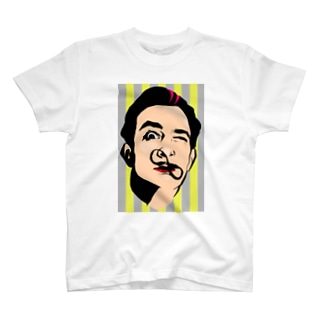 カラフルデザインTシャツ T-shirts