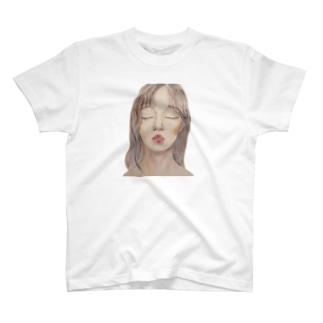 絵のティシャツ T-shirts