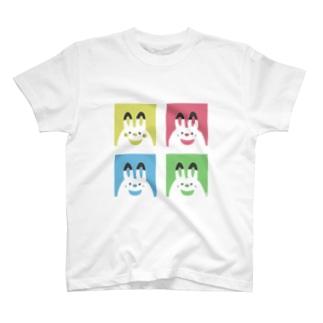 つきのわうさぎ【喜怒哀楽】 T-shirts