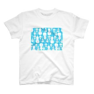 マンドリンオーケストラ(skyblue) T-shirts