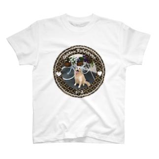 ゴールデンレトリバー キース T-shirts