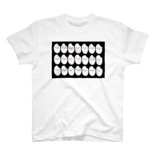 おこめ大量発生ブラック T-shirts