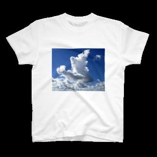 まあむの流れてきた雲 T-shirts