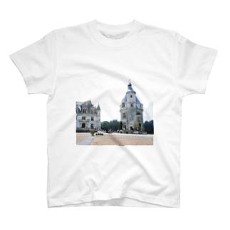 フランス:シュノンソー城 France: Château de Chenonceau T-shirts