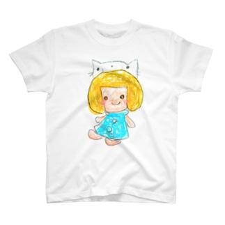みーちゃんとにゃーちゃん T-shirts