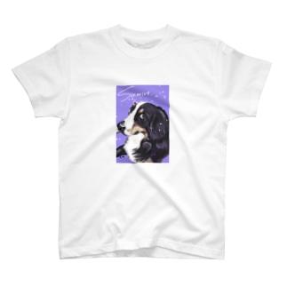 バーニーズのすみれちゃん T-shirts