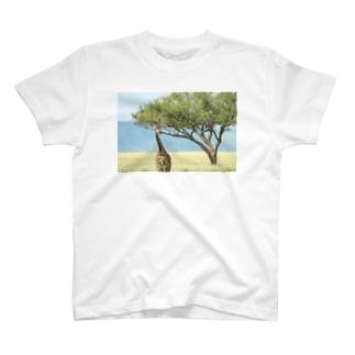 マサイキリン T-shirts