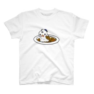 アヒルドカリー T-shirts