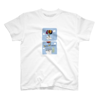 きゅな風船 T-shirts