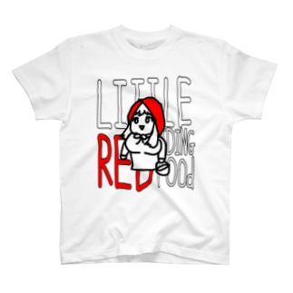 冷蔵庫の赤ずきん T-shirts