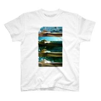 本景色。 T-shirts