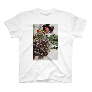 秋紫陽花 T-shirts