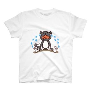 くつ下ねこさん(号泣) T-shirts