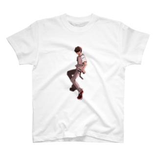 男の人 T-shirts
