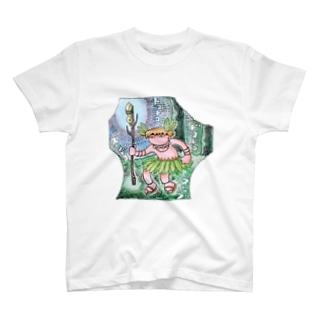 先住民族の踊り T-shirts