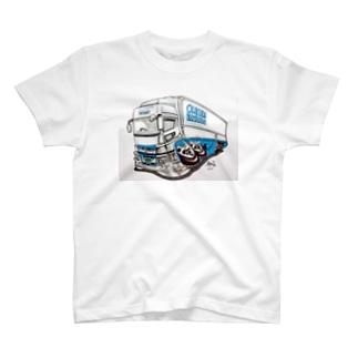 本舗なっか Hawkさん画スパグレTシャツ T-shirts