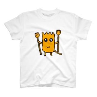モグT(謎の杖) T-shirts