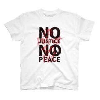 NO JUSTICE NO PEACE 2 T-shirts