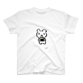 くまのクゥ(with Signature) T-shirts
