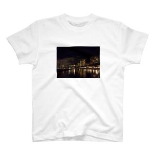 夜のWAIKIKI T-shirts