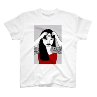 十三花Tシャツ©️chiri T-shirts