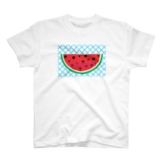 てりたまの夏T!!(スイカver) T-shirts