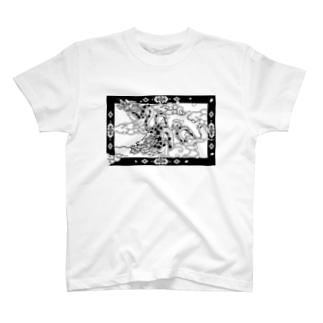 桜龍神さま T-shirts