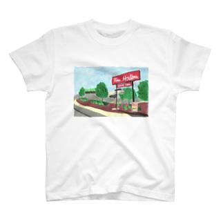 ティムホートンズ T-shirts