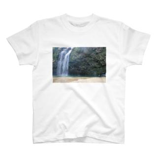 鹿児島 雄川の滝 T-shirts