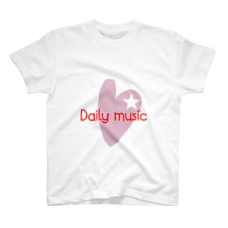 daily music♡ T-shirts