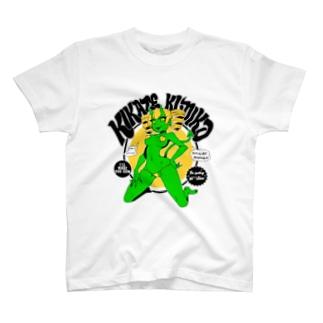木風公子のTシャツ(悪魔・緑) T-shirts