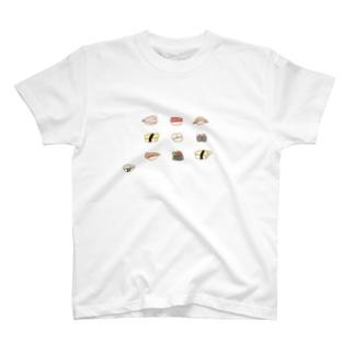 ぷきんのおすし(うしろもかわいい) T-shirts