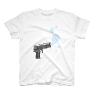LOVE&Peace&Peace T-shirts