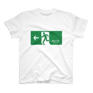カピバラへの扉 T-shirts