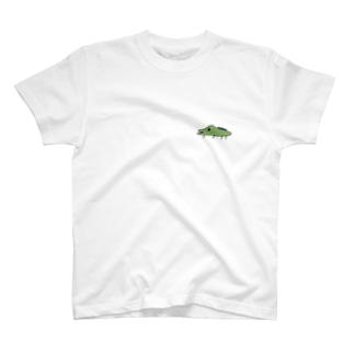 ヘタウマなワニ T-shirts