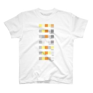 オカメのイロドリ T-shirts