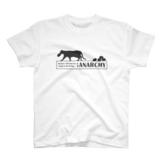 #01 パン泥棒猫「ANARCHY~無秩序~」 T-shirts