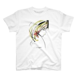 女性 T-shirts