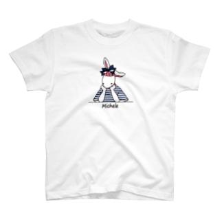 考えごとをするミシェル T-shirts