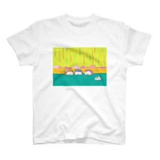 ペンギン温泉会 T-shirts